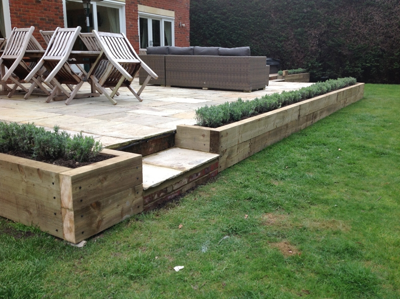 Decking andres garcia garden landscaping and garden design milton newdecking workwithnaturefo
